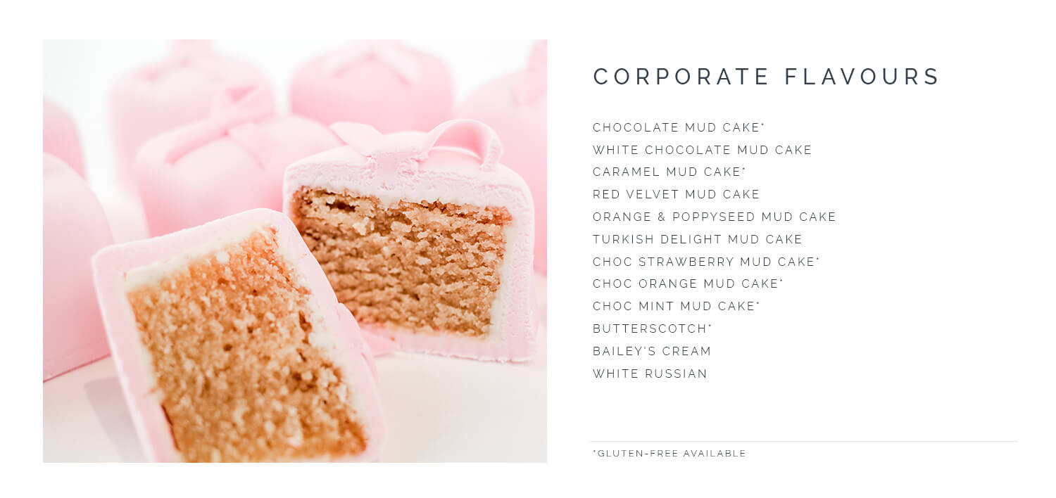 A Little Cake Place Corporate Flavours